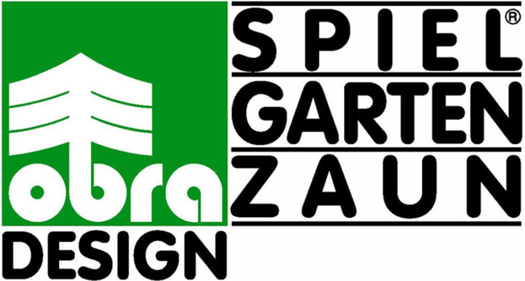 Das Logo von OBRA-Design, Hersteller für Spielgeräte aus Holz.