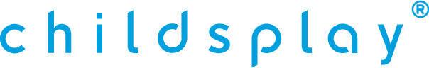Das Logo der ChildsPlay GmbH, Vertriebsunternehmen für Teppichvlies & Fallschutz.